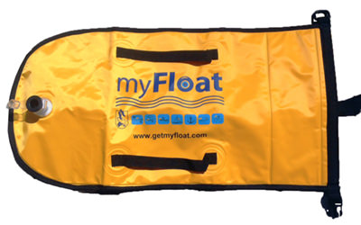 myFloat Open Water Safety bag