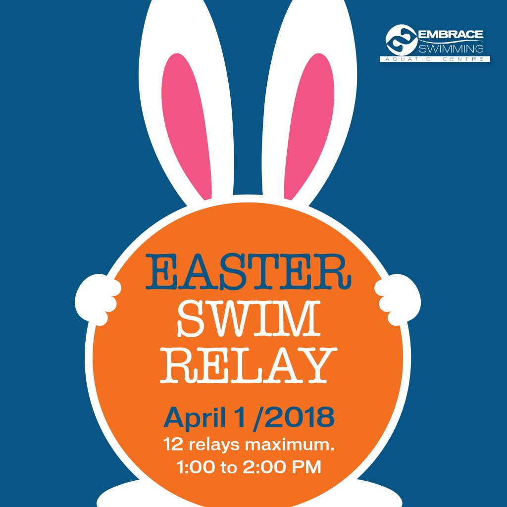 Easter relay swim 2018 registration embrace open water for Is there any shops open on easter sunday